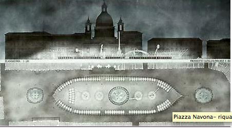 Riqualificazione Piazza Navona 1